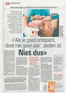 Verloskundige Diana Koster schrijft boek over bevallinsgtrauma's